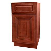 Cherry Glazed Kitchen Cabinets