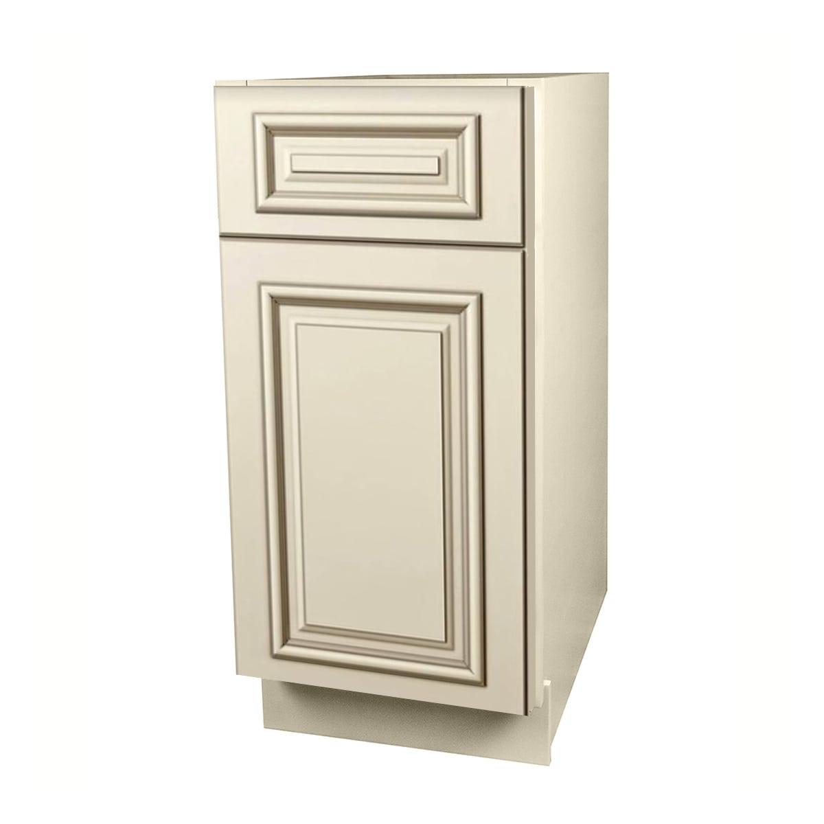 Ordinaire Estate White Kitchen Cabinets