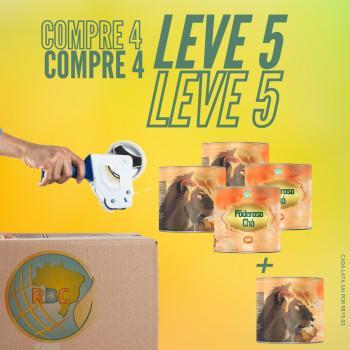 Kit Pague 4 Leve 5 - Poderoso Chá SB - Edição Colecionador 001