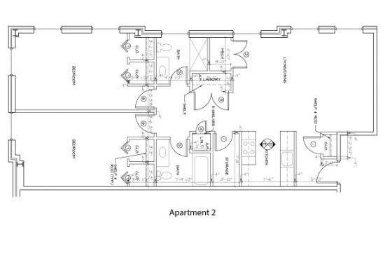 Bedroom Apartment Building at  - 176 E Main St, Newark, DE  19711, United States image 11
