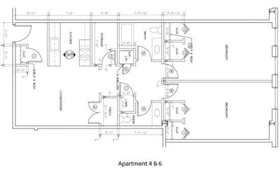 Bedroom Apartment Building at  - 176 E Main St, Newark, DE  19711, United States image 12