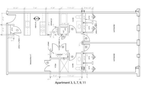 Bedroom Apartment Building at  - 176 E Main St, Newark, DE  19711, United States image 13