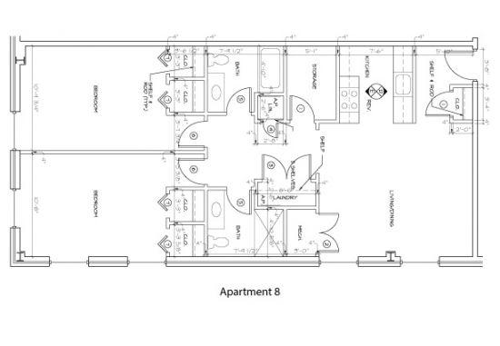 Bedroom Apartment Building at  - 176 E Main St, Newark, DE  19711, United States image 14