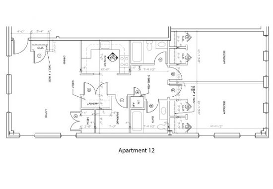 Bedroom Apartment Building at  - 176 E Main St, Newark, DE  19711, United States image 15