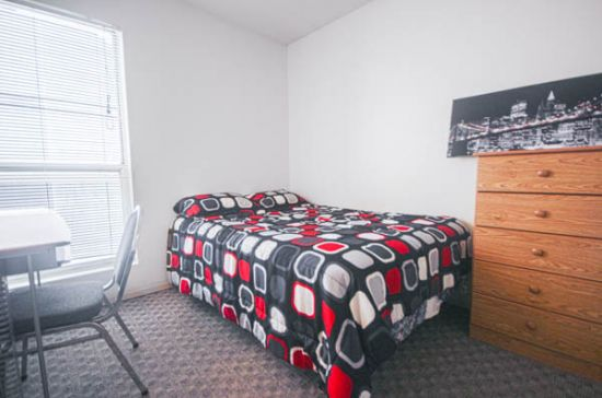 Bedroom Apartment Building at  - 806 South 3rd Street Champaign, IL 61820 USA image 3