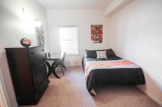 Bedroom Apartment Building at  - 606 East Stoughton Street Champaign, IL 61820 USA image 7
