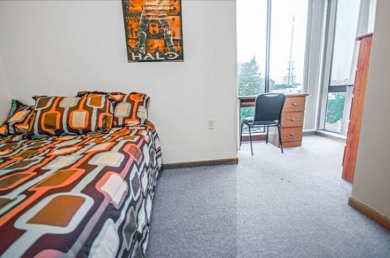 Bedroom Apartment Building at  - 51 East Green Street Champaign, IL 61820 USA image 4
