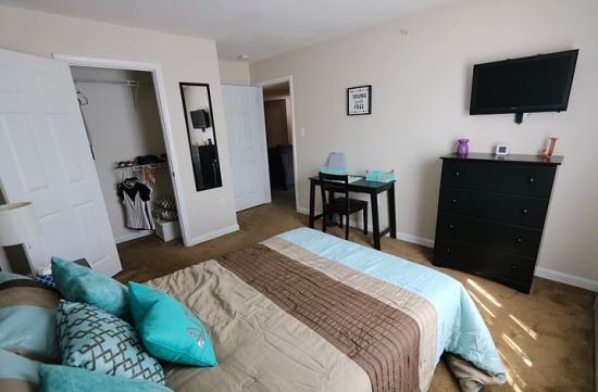 Bedroom Apartment Building at  - 247 W Utica St, Oswego, NY  13126, United States image 38