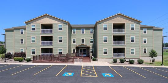 Bedroom Apartment Building at  - 247 W Utica St, Oswego, NY  13126, United States image 1