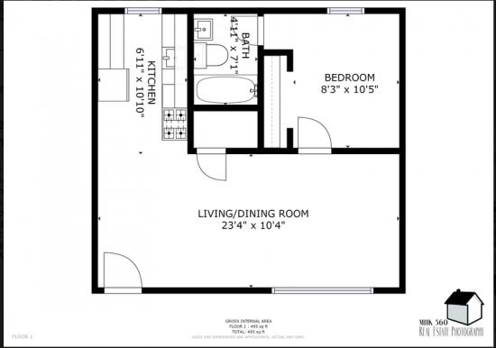 Bedroom Apartment Building at  - 919 Denison Ave, Manhattan, KS  66502, United States image 16