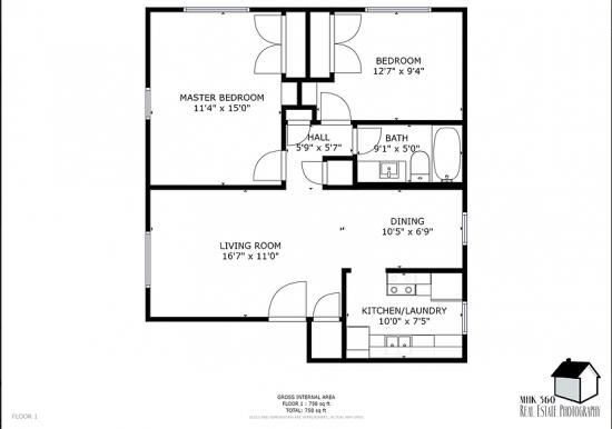 Bedroom Apartment Building at  - 917 Vattier St, Manhattan, KS  66502, United States image 14