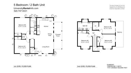 Bedroom Apartment Building at  - 2381 N 4th AveTucson, AZ 85705 image 12
