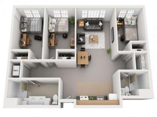 Arcadia Apartments - Keene | Rent College Pads