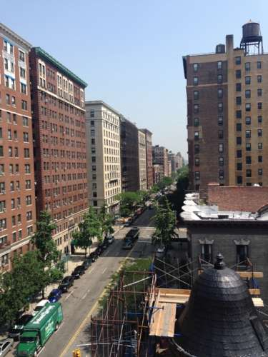 West End Avenue between West 101-West 102 streets