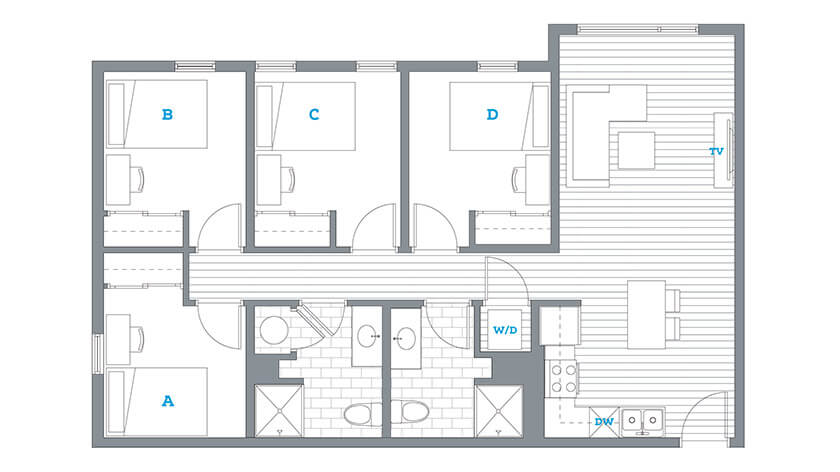 College sublease, college student housing near nyu , nyu off campus lofts