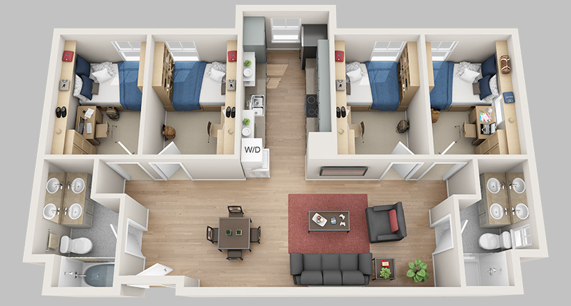 college student housing near new-hampshire