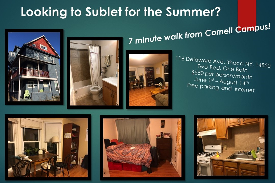 College sublease, college student housing near cornell , cornell off campus lofts