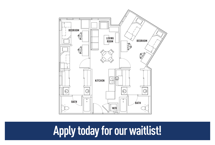 College sublease, college student housing near drexel , drexel off campus lofts