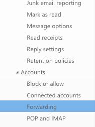 Select Forwarding
