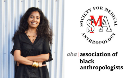 A composite photo of the 2020 AAA Award Winners. From left to right, Mayanthi Fernando, Society of Medical Anthropologists and the Association of Black Anthropologists.