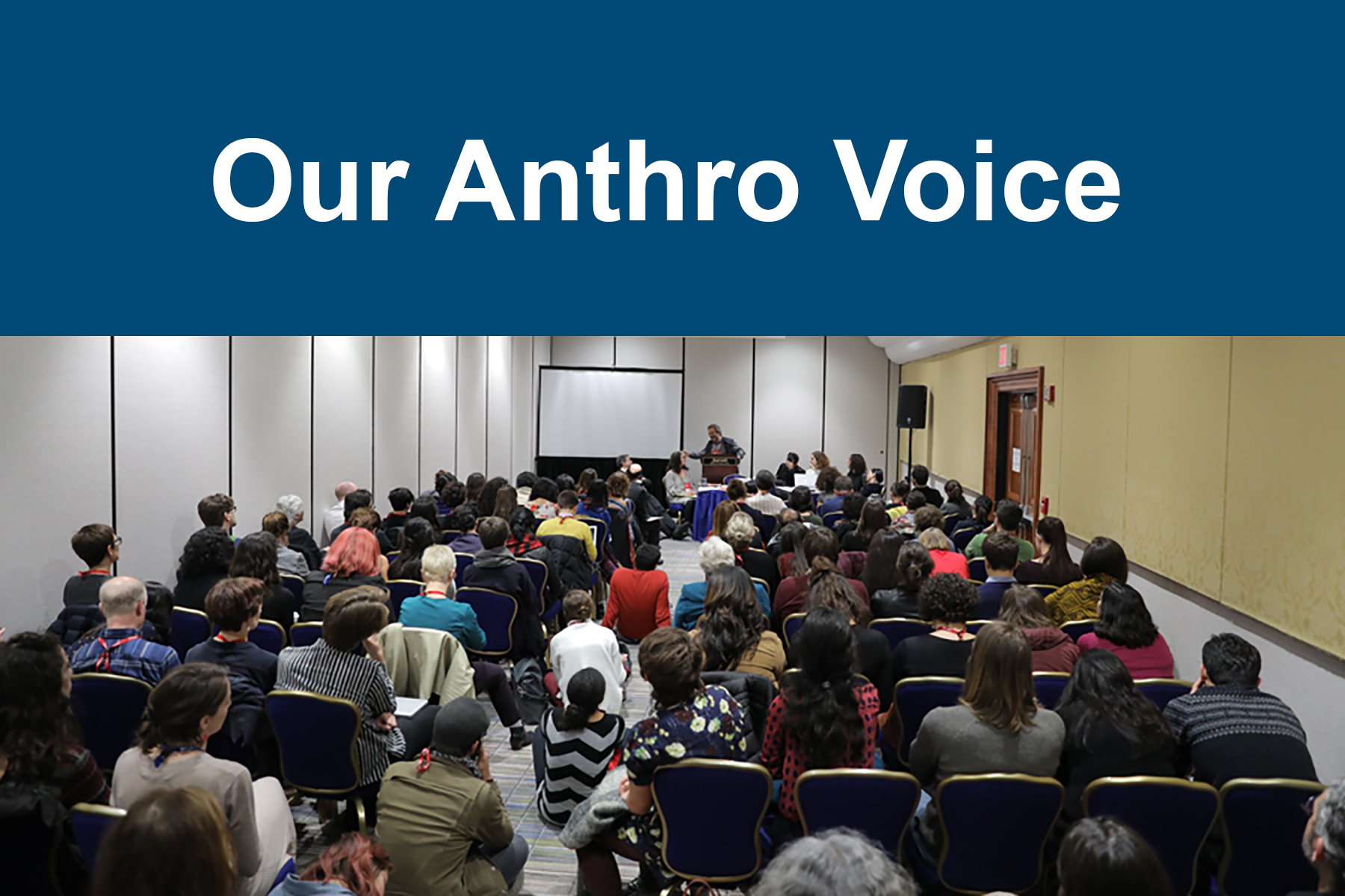 Our Anthro Voice