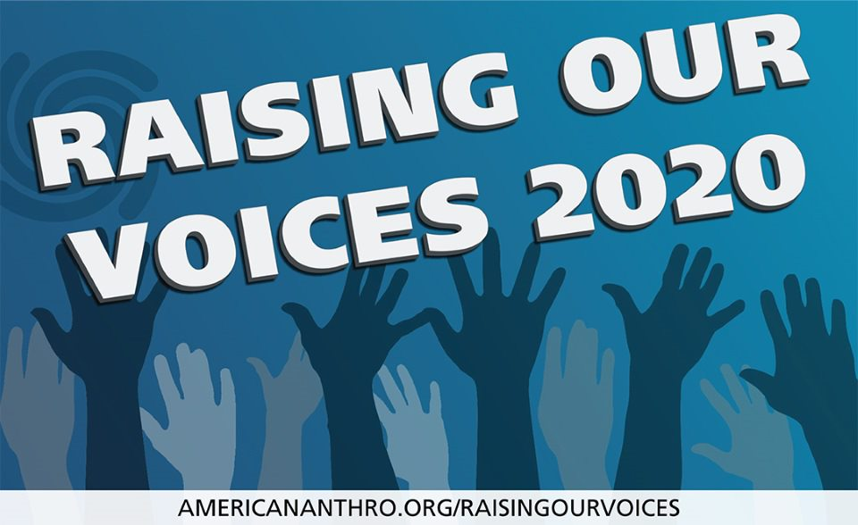 Raising Our Voices 2020 Banner