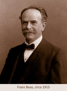 portrait of Franz Boas, circa 1915