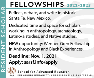 Ad for Schoool for Advanced Research 2022-23 fellowship. Apply at sarsf.info/apply