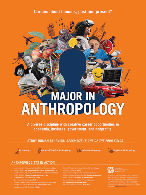 Curious about humans, past and present? Major in Anthropology.