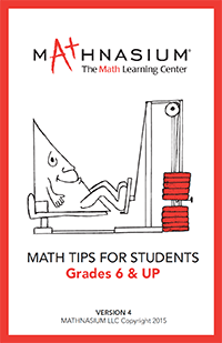 Math Tips for Students