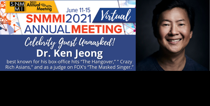 SNMMI Welcomes Hollywood's Dr. Ken Jeong