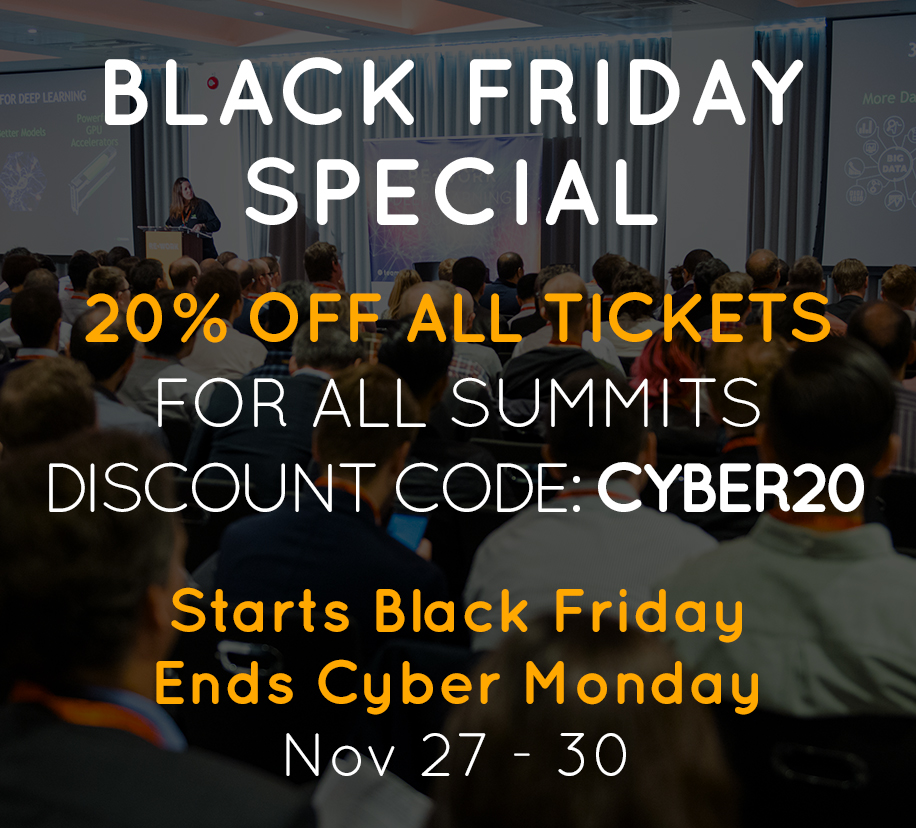 Black Friday - Cyber Monday Special Offer!
