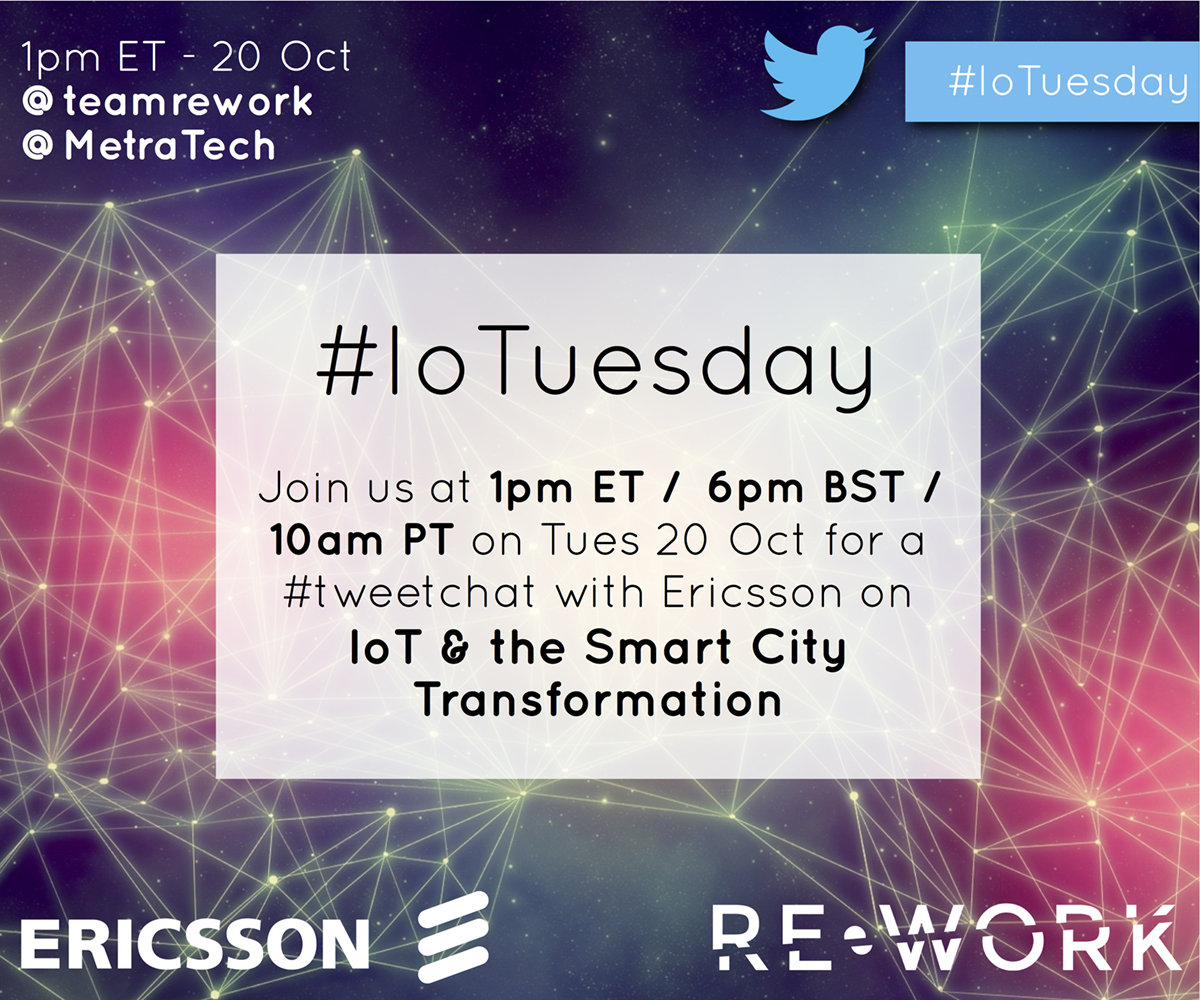 Join the discussion: IoT & the smart city transformation