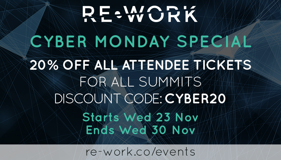 Black Friday & Cyber Monday Special Offer On ALL Summits!