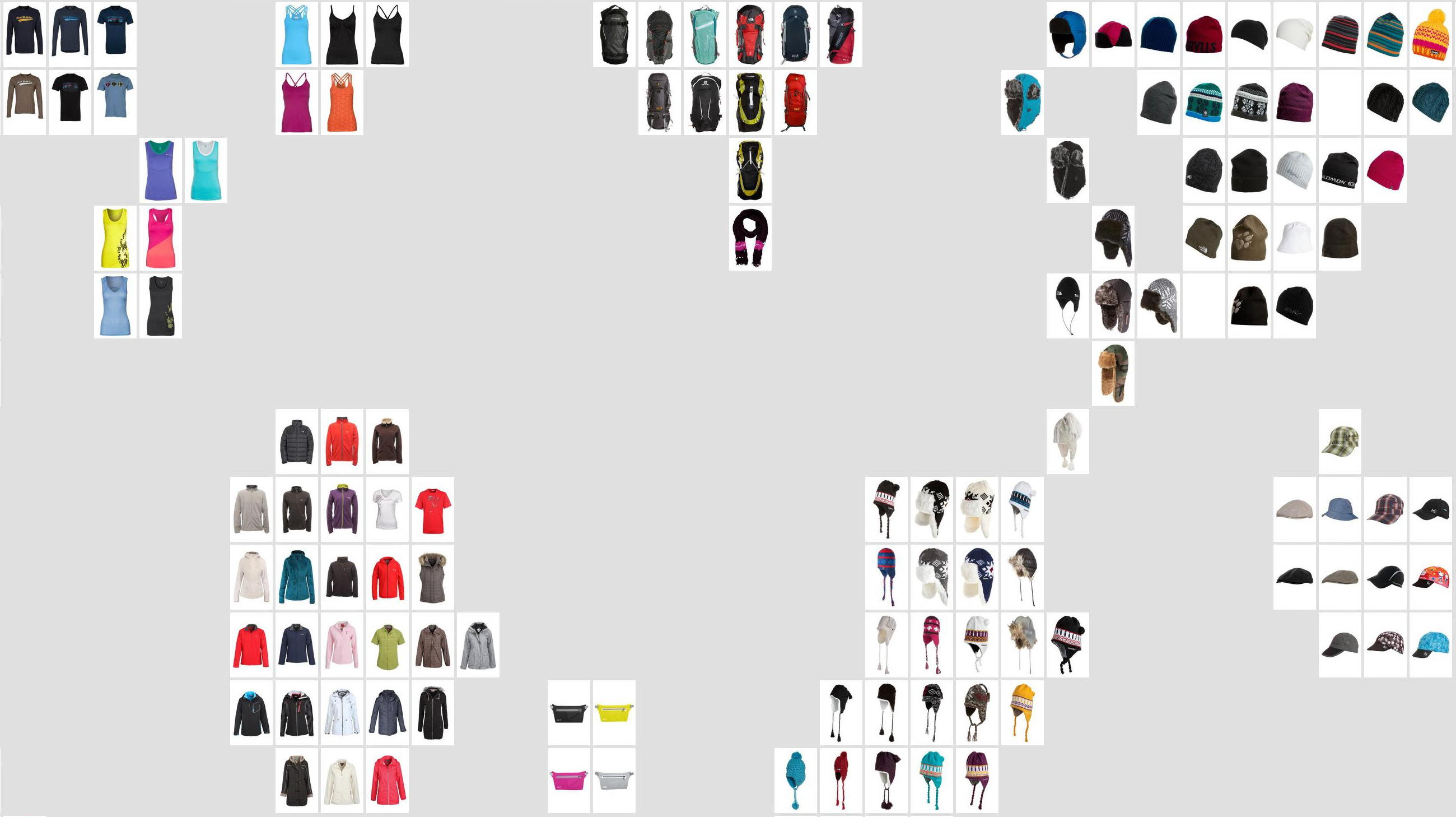 Fashion DNA: Structural Feature Mapping in the World of Retail