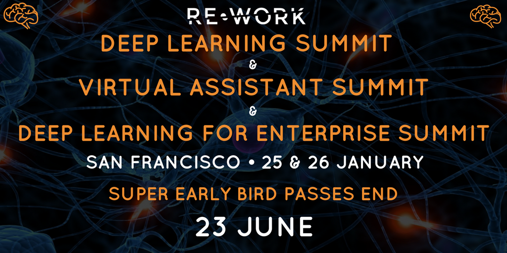 Super Early Bird Ending: Global Deep Learning Summit Series, San Francisco