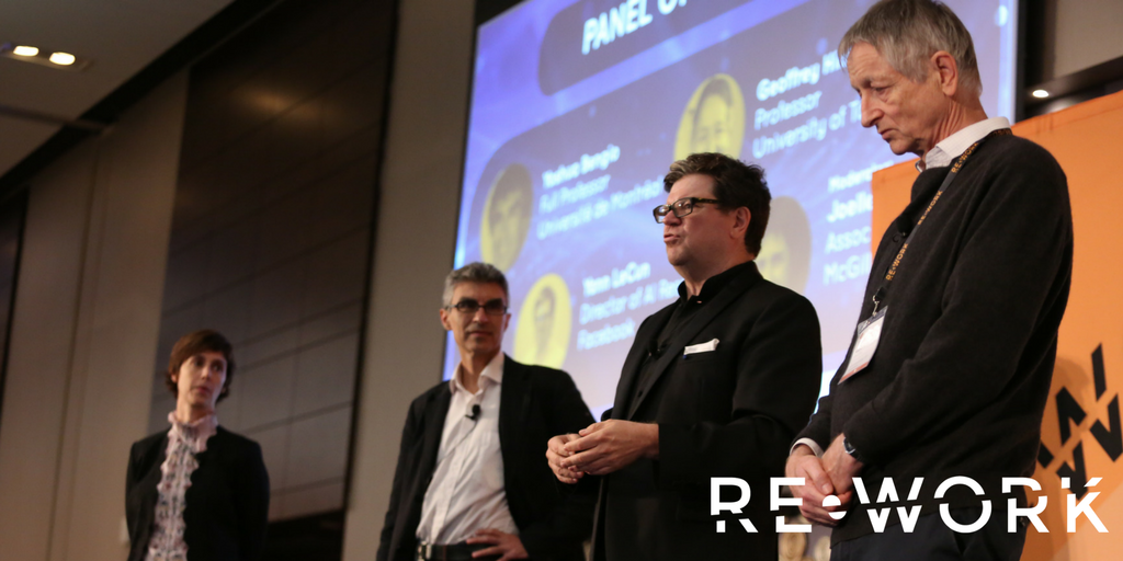 RE•WORK Deep Learning Summit Montreal Panel of Pioneers Interview: Yoshua Bengio, Yann LeCun, Geoffrey Hinton