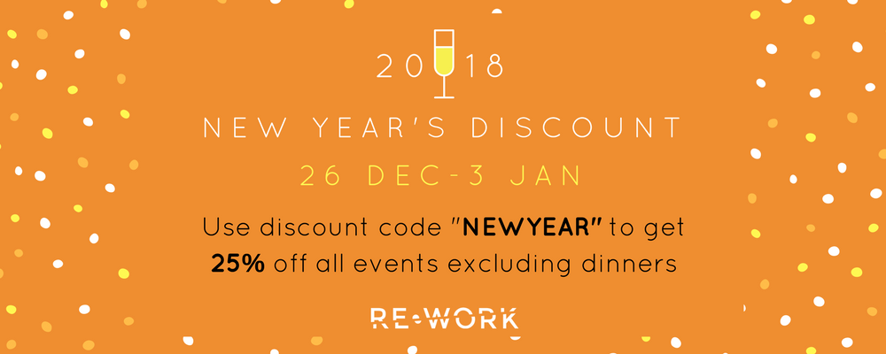 New Year, New You: here's 25% off to celebrate!