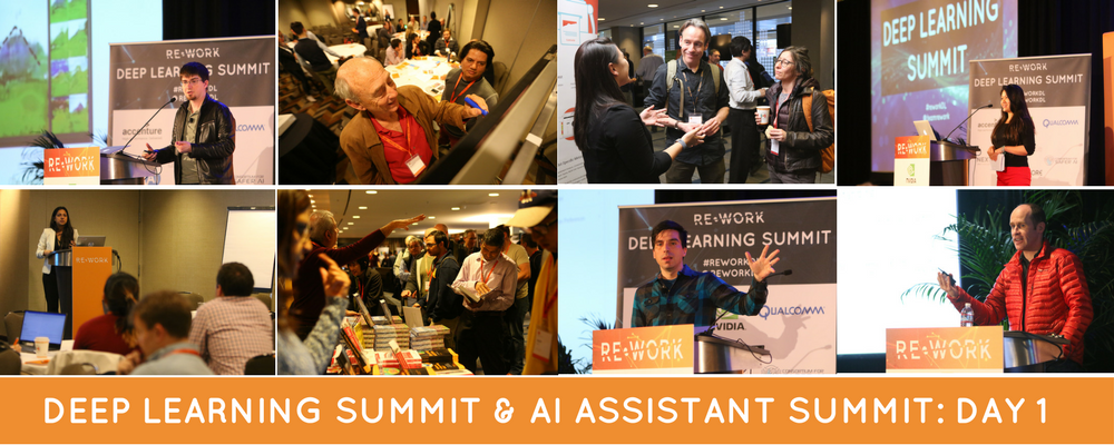 Deep Learning Summit & AI Assistant Summit Day 1: Highlights