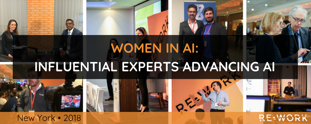 30 Influential Women Advancing AI in New York