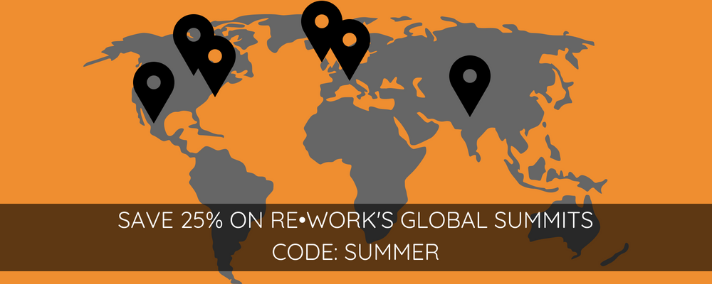 Travel the world with AI: Save with RE•WORK's Summer Special