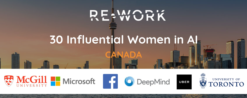 30 Influential Women Advancing AI in Canada