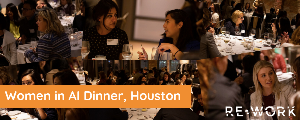 Empowering Diversity in Technology: Women in AI Dinner, Houston