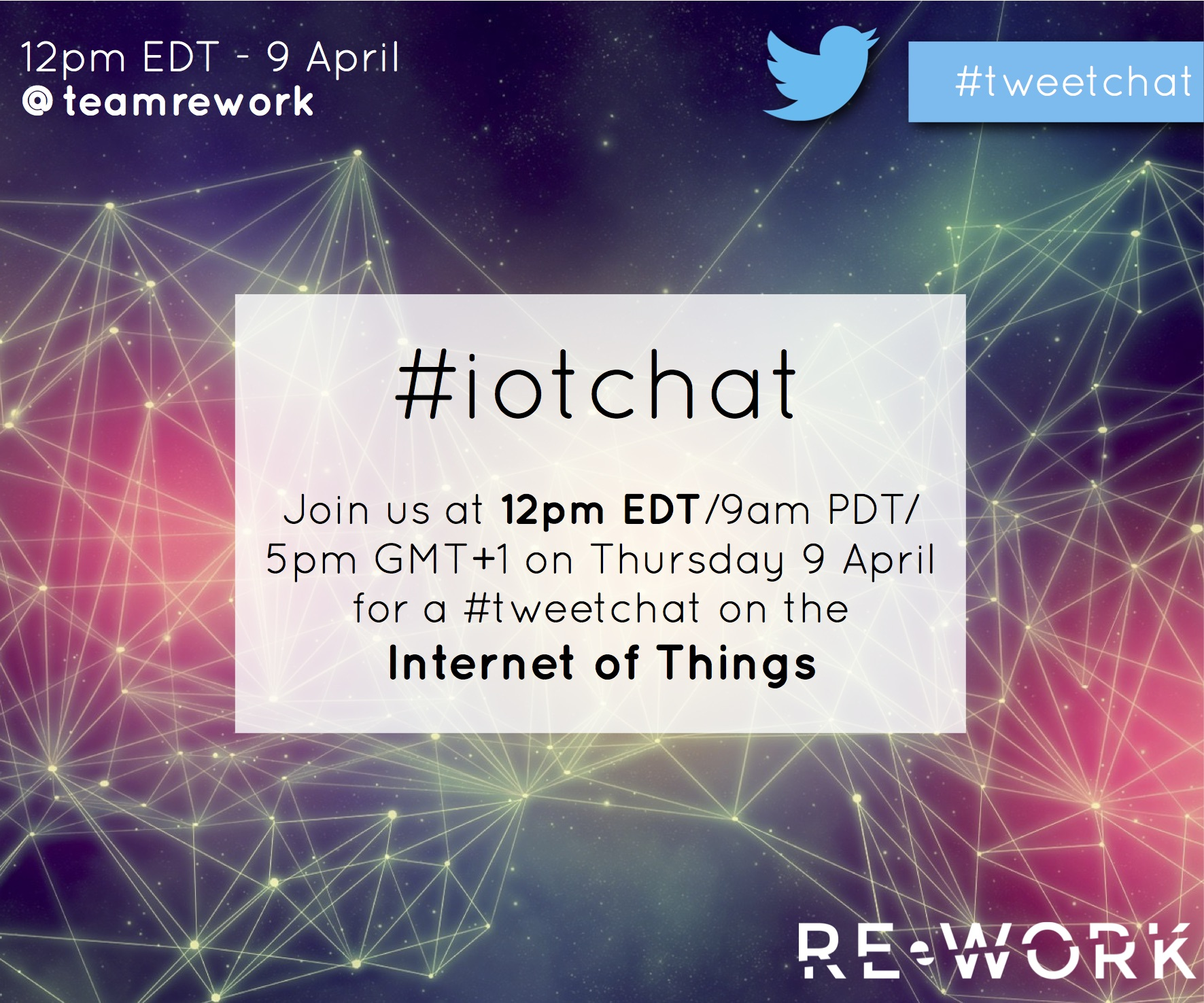Join the IoT Day tweet chat!