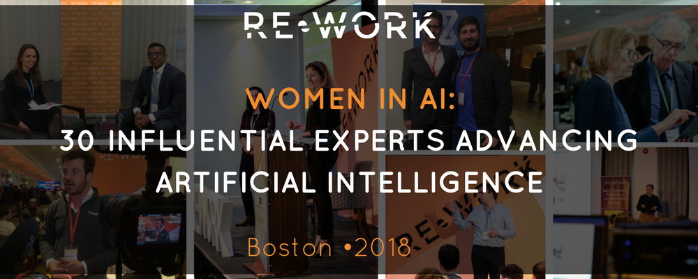30 Influential Women Advancing AI in Boston