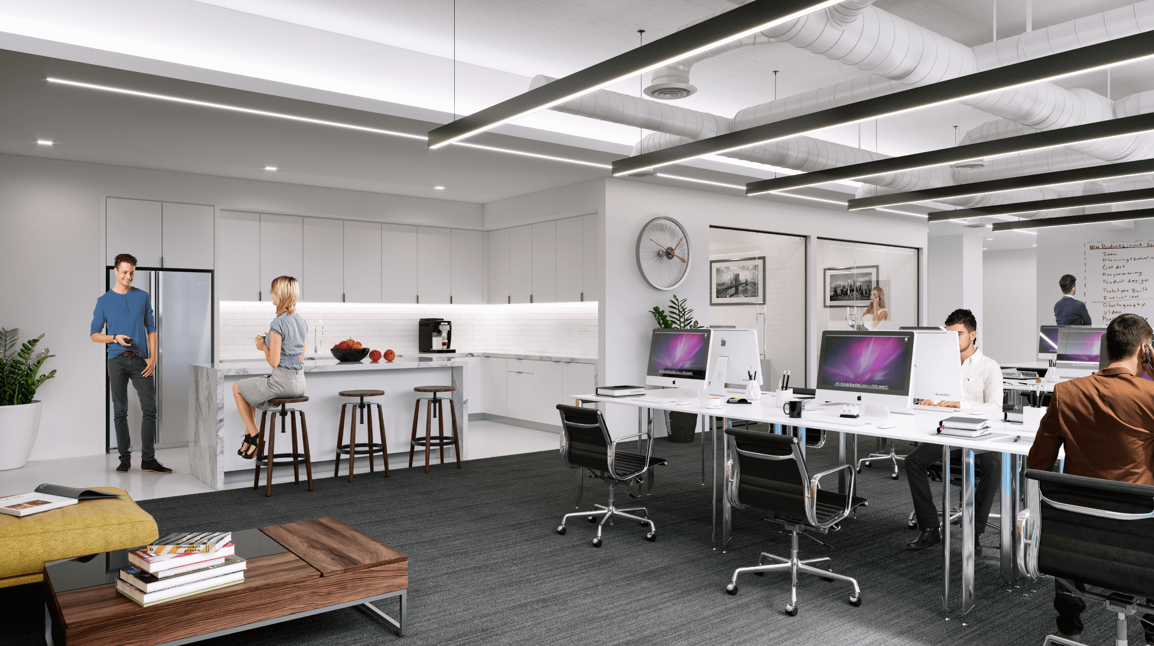 Move-in-ready office suites