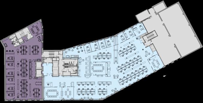 Floor 3 Multi Tenant Test Fit
