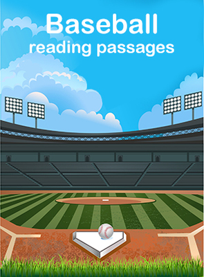 Baseball reading passages