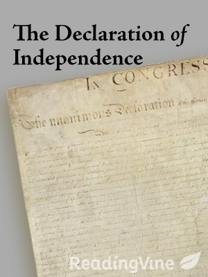 The declaration of independ