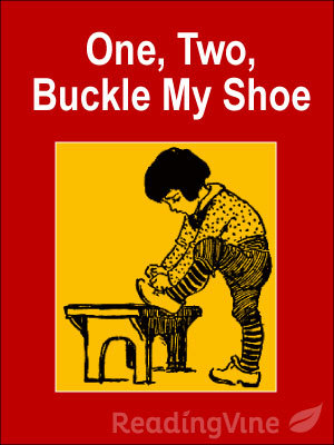 photo relating to One Two Buckle My Shoe Printable identify A person, 2, Buckle My Shoe Printable K-2nd Quality Poetry
